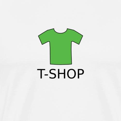 T-SHOP LOGO - Männer Premium T-Shirt