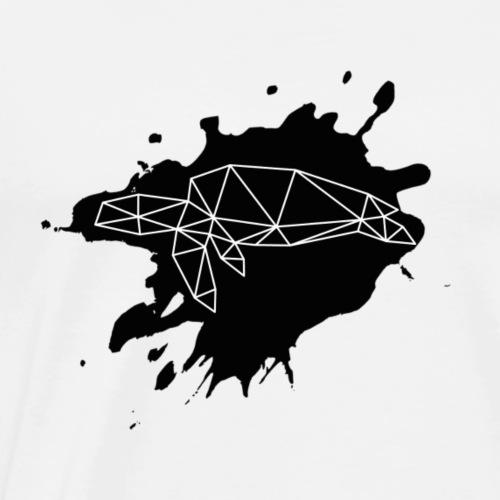 Schildkrot Splash - Männer Premium T-Shirt