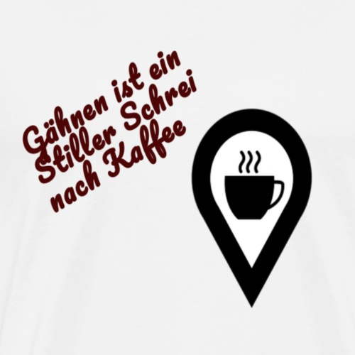 Kaffee Liebhaber - Männer Premium T-Shirt