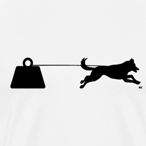 Cani-enclume - T-shirt Premium Homme