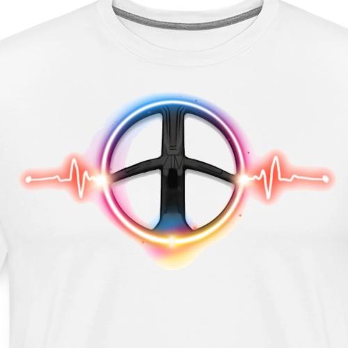 I ♥ Metaldetecting Puls - Männer Premium T-Shirt