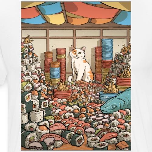 Sushi Love - Men's Premium T-Shirt