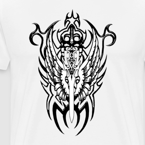 Tattoo Style - Männer Premium T-Shirt