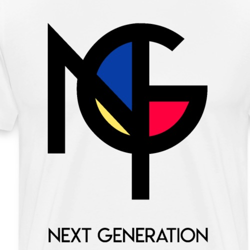 NXTGN x NG - Männer Premium T-Shirt