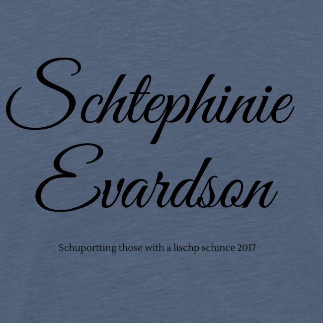 Schtephinie Evardson Lisp Awareness