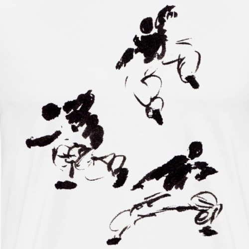 3 kungfu - Men's Premium T-Shirt