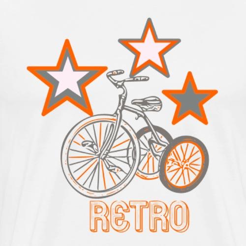 rétro étoile - T-shirt Premium Homme