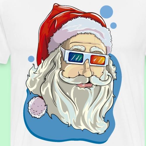 Santa claus 3D - Camiseta premium hombre