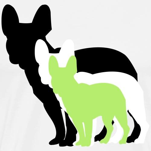 Französische Bulldogge 3 - Männer Premium T-Shirt
