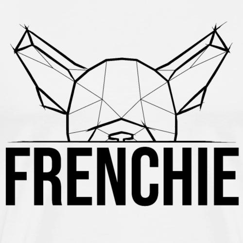 """Frenchie Geometric Face """"Frenchie"""" - schwarz"""