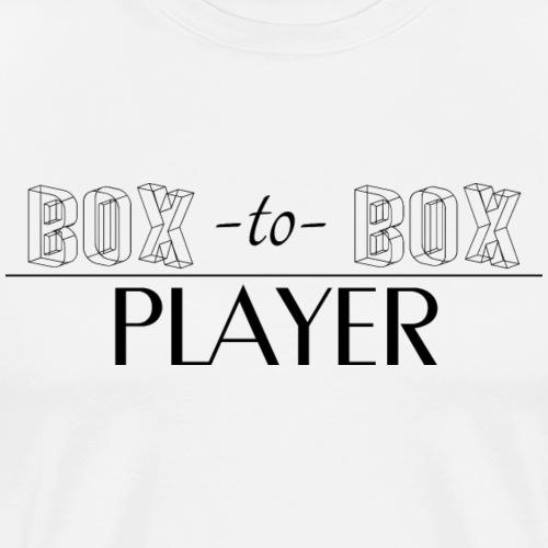 Box-to-Box Player - Men's Premium T-Shirt