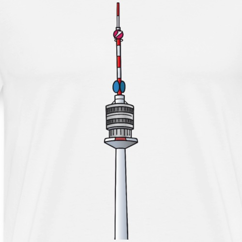 Donauturm Wien c - Männer Premium T-Shirt