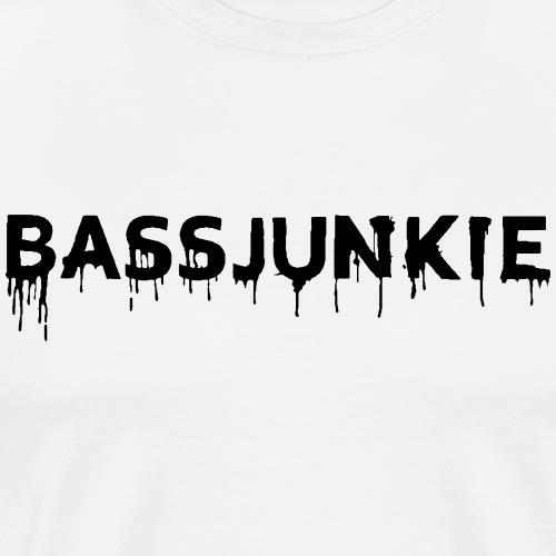 Bassjunkie Bass Liebe Electronic Music Dark Musik - Männer Premium T-Shirt