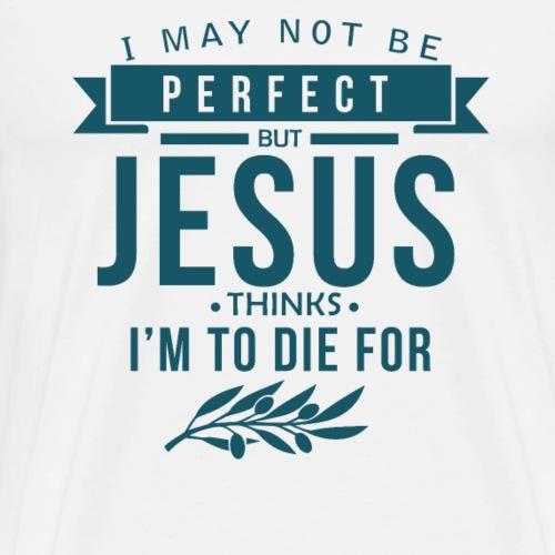 I May not be perfect - Männer Premium T-Shirt