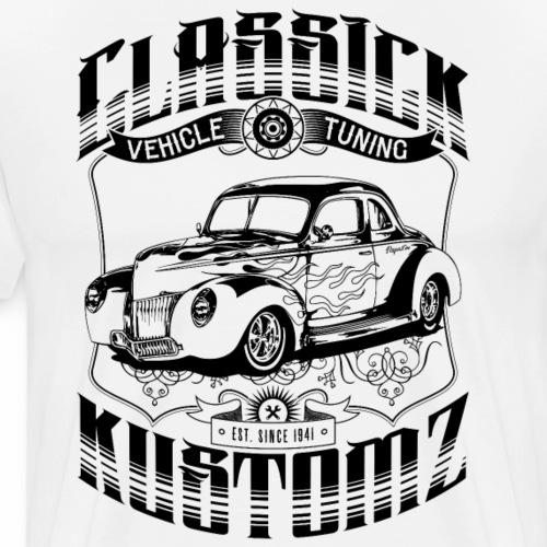 Hot Rod - Classick Kustomz (black) - Men's Premium T-Shirt