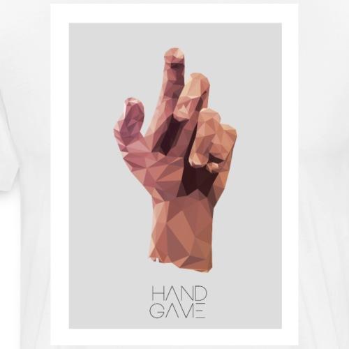 Hand Game Design - T-shirt Premium Homme