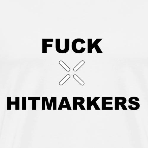 Fuck Hitmarkers Design - Men's Premium T-Shirt