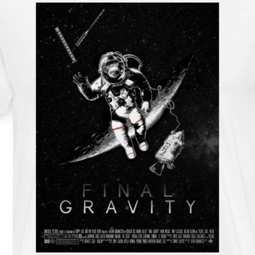 FINAL GRAVITY POSTER - Men's Premium T-Shirt