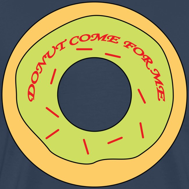 Donut Come For Me Red