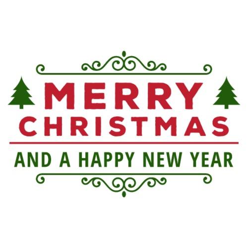 merry christmas, christmas present, christmas tree - Men's Premium T-Shirt