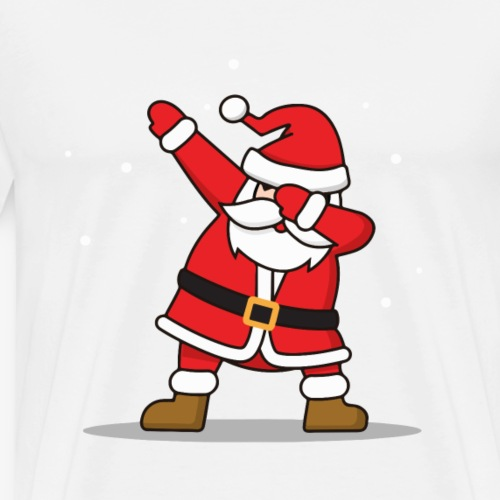 DAB père Noël cool - T-shirt Premium Homme
