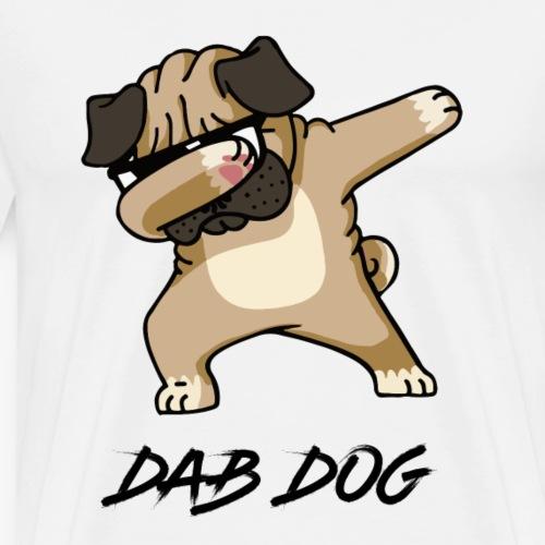 DAB Dog dance - T-shirt Premium Homme