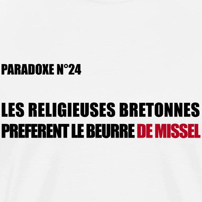 PARADOXE religieuse