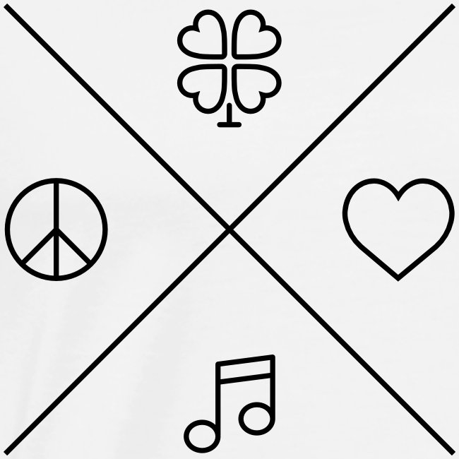 Peace - Love - Music - Luck