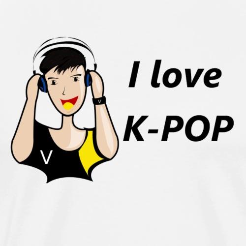 k pop garçon love - T-shirt Premium Homme