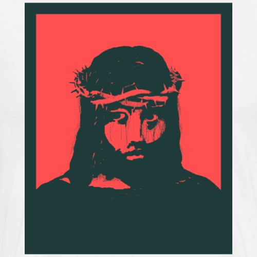 Jeesus Nasaretilainen - Miesten premium t-paita