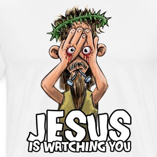 Jesus Cartoon - Männer Premium T-Shirt