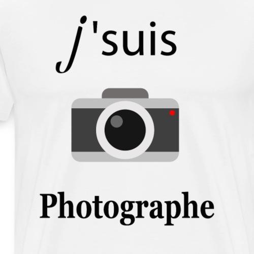 J' suis photographe - T-shirt Premium Homme