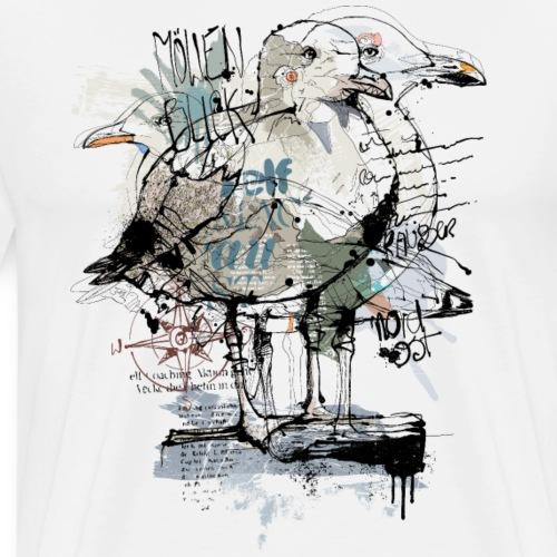 Seagull Baltic Sea - Männer Premium T-Shirt
