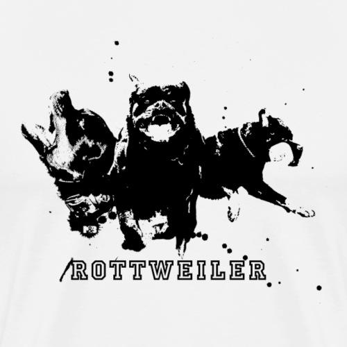 Rottweiler Powerhouse - Mannen Premium T-shirt