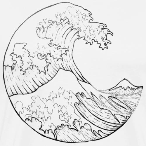 ocean tears / waves