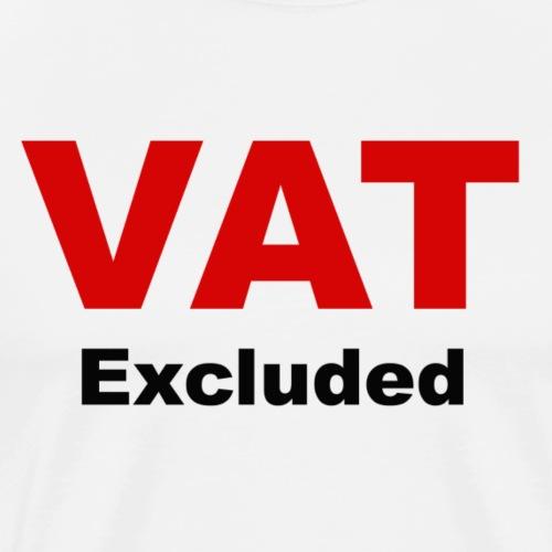 VAT Excluded - Maglietta Premium da uomo