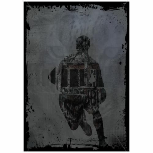 leopard basket - T-shirt Premium Homme