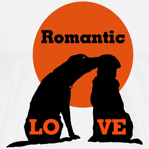 Romantic Love - Männer Premium T-Shirt