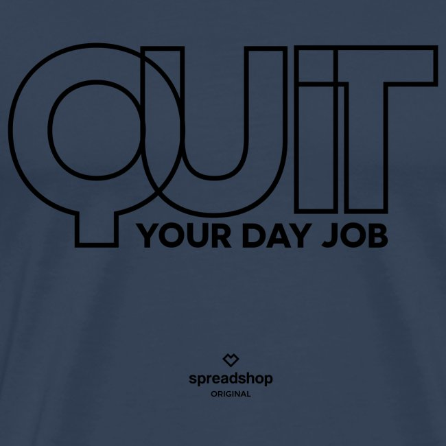 Quit in black