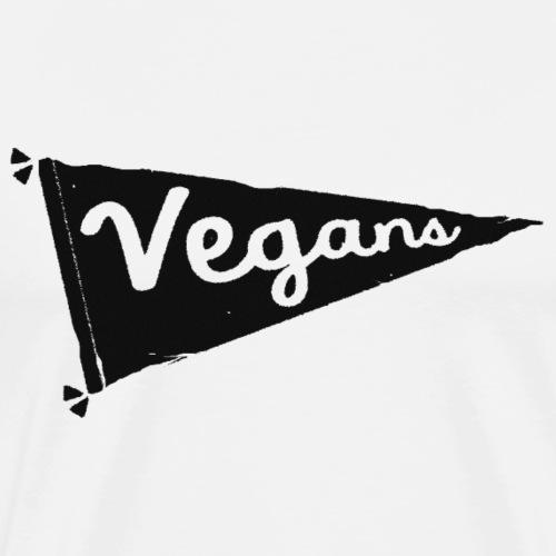Vegans Flag - Men's Premium T-Shirt