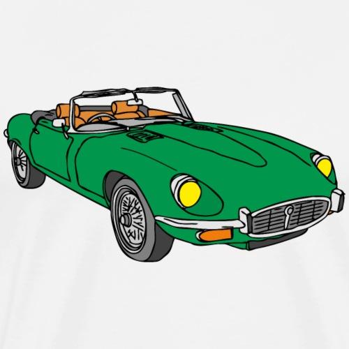 Sportwagen grün - Männer Premium T-Shirt