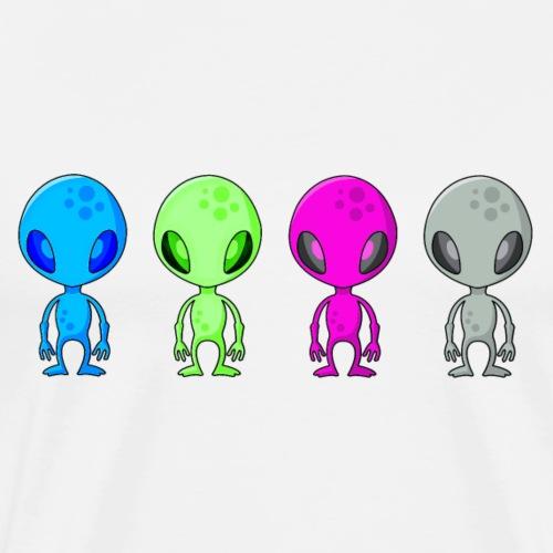 Alieni Multicolore - Multicoloured Aliens