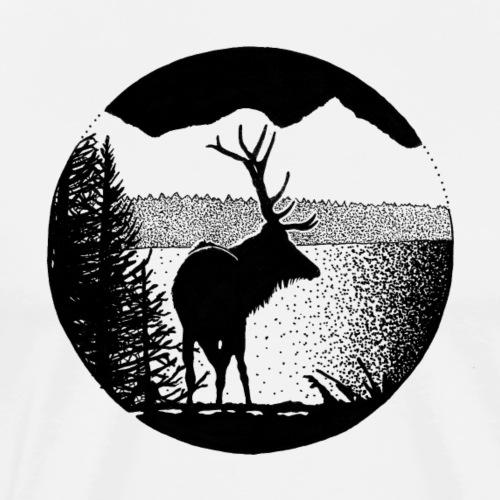 12 - T-shirt Premium Homme