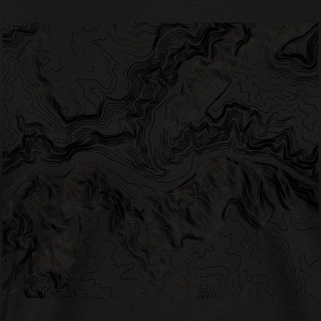 Hoehenlinien schwarz