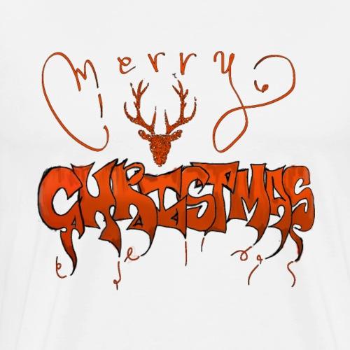 MERRY CHRITMAS joyeux noël - T-shirt Premium Homme