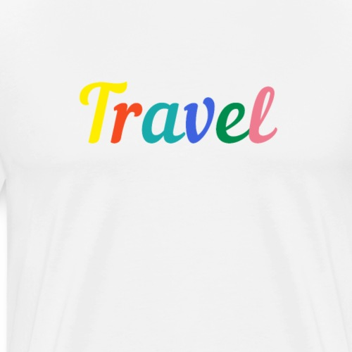Travel - by Life to go - Männer Premium T-Shirt