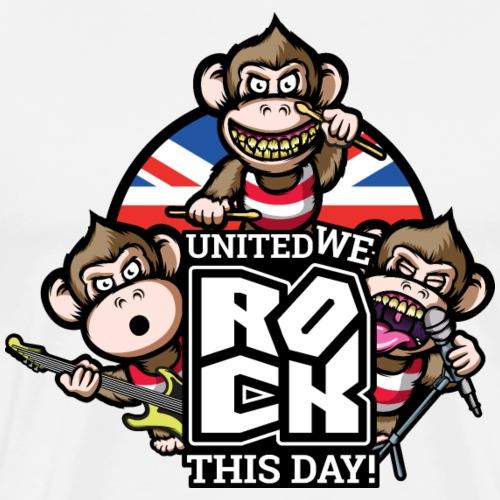 United We Rock! - Men's Premium T-Shirt