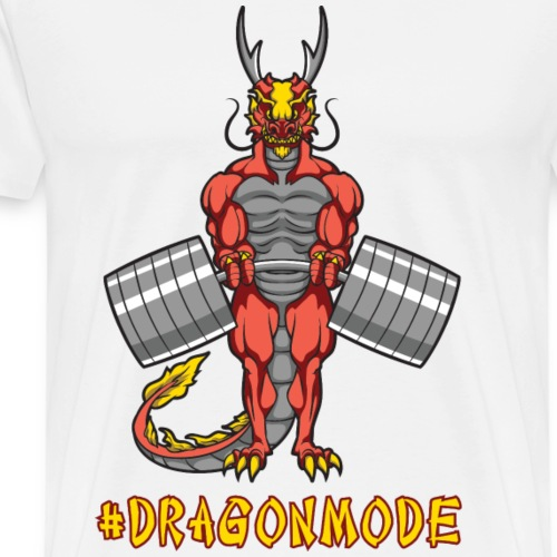 #Dragonmode - Men's Premium T-Shirt