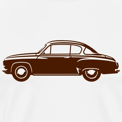 Classic car Coupe - Men's Premium T-Shirt