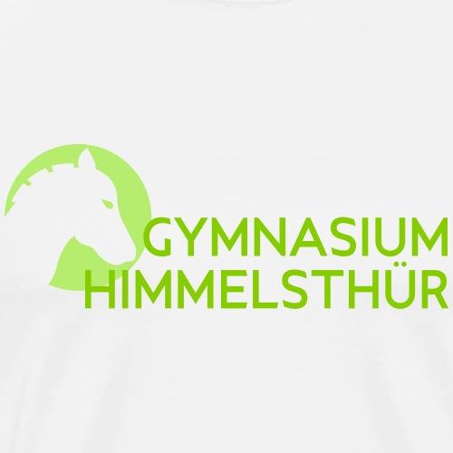 Schullogo Silhouette - Männer Premium T-Shirt